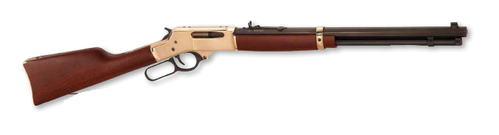 HENRY Lever Action Rifle Brass Wildlife Edition